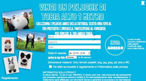 Vinci Peluche Unicoop Firenze Amici della Fattoria