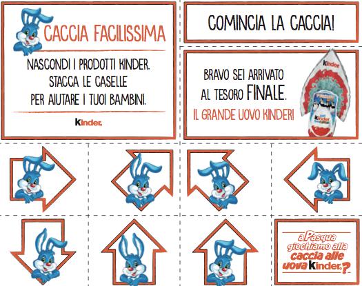 Kinder Caccia Alle Uova Con Il Coniglio Pasquale Gdomarketing