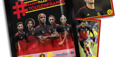 Carrefour Be Euro2016-stickers