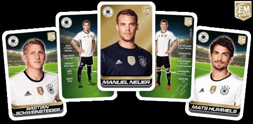 Kinder DFB_Team_Cards