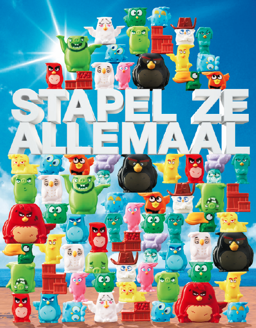 Plus Angry Birds collection