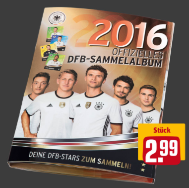 Rewe Euro 2016 Album