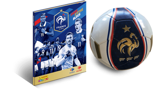 Carrefour album Euro 2016