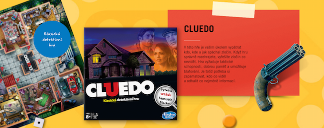 Albert Mini Game Hasbro Cluedo