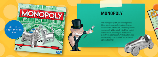Albert Mini Game Hasbro Monopoly