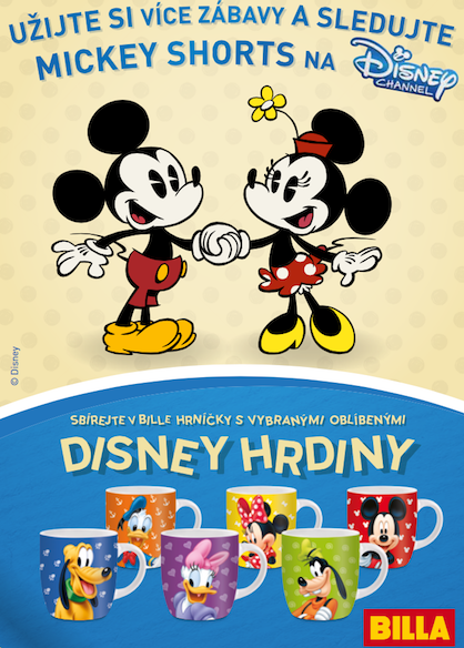 Billa cz Disney flyer